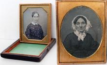Дагерротипы 1840-х гг. на посеребренных пластинах