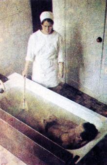 Одесса. В санатории «Якорь». Фотография в буклете санатория. 1972 г.