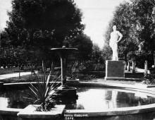 Одесса. Парк на Куяльнике