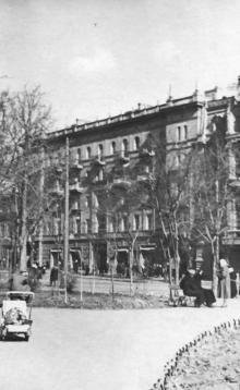 Одесса, дом № 19 по Садовой улице. 1960-е гг.