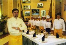 Ресторан отеля «Морской». Фотография в брошюре «Гостиницы Одессы». 2005 г.