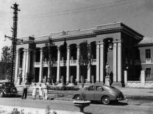 Одесса. Здание нового клуба энергетиков на ул. Московской, № 117. Фотография 1950-х гг.