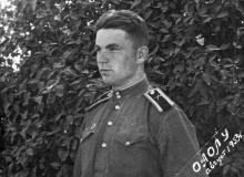 Курсант ОАОЛУ. Одесса. 1953 г.