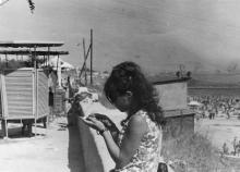 Одесса. На пляже в Отраде. 1970-е гг.