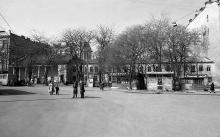 Площадь Мартыновского (Греческая), фотограф Юрий Бойко, 1988 г.