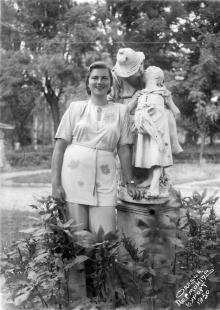 Одесса. Лермонтовский курорт. 1950 г.