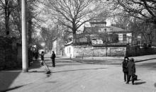 Одесса. Переулок Веры Инбер (справа Тонг Дык Тханга). Фото В.А. Чарнецкого. 1960-е гг.
