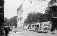 Одесса, ул. Вице-адмирала Жукова. Фото В.А. Чарнецкого. 1970-е гг.