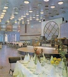 Ресторан «Море». Фотография в буклете одесских ресторанов. 1970-е гг.