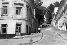 Одесса. Кафе «Сказка» на спуске Ласточкина. Фото В.А. Чарнецкого. 1980-е гг.