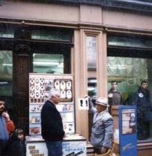 А.И. Ивченко в Пассаже. Одесса. 1980-е гг.