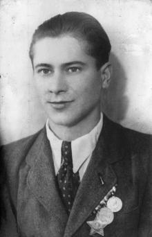 Александр Ивченко. 1950 г.