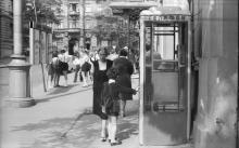 Одесса. На ул. Менделеева, возле Дома ученых. 1970-е гг.