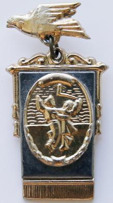 Значок, выпущенный в Одессе к VI Всемирному фестивалю молодежи и студентов в Москве. 1957 г.