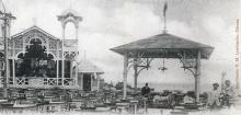 Малый Фонтан. Ресторан. Открытое письмо. Типография Г.М. Левинсона. Одесса. 1900-е гг.