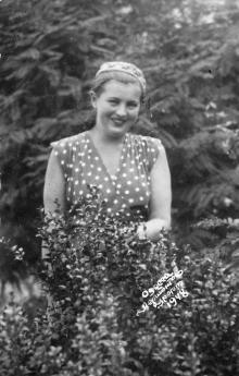 Одесса. Лермонтовский курорт. 1948 г.