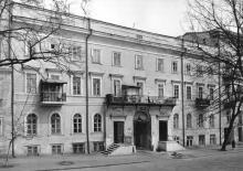 Одесса. Дом № 6 по переулку Чайковского. 1980-е гг.