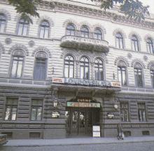 Гостиница «Лондонская», казино «Габриэла». Фото в буклете «Одесса. План города». 1991 г.