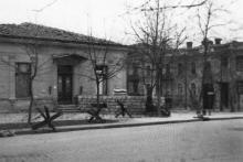 Одесса. Дом № 21 по ул. Пушкинской, угол ул. Жуковского. 1941 г.