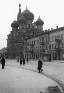Одесса. Пантелеймоновский монастырь на Новорыбной улице. 1941 г.
