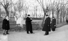 Одесса. В сквере им. Мечникова. 1955 г.
