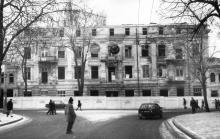 Одесса. Круглый дом во время сноса