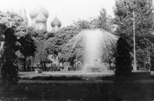 Одесса. Привокзальный сквер. 1960-е гг.