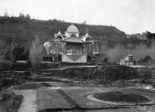 «Марьино» после оползня. Фото Ю.Ю. Коншина. Ноябрь, 1897 г.