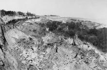 Одесса. Вид на «Марьино». Снимок сделан с дачи Бухариной. 1897 г.