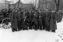 В санатории в Мукачевском переулке. Одесса, оккупация, 1943 г.