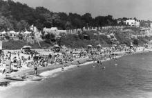 Пляж «Золотой берег». Одесса. 1950-е гг.