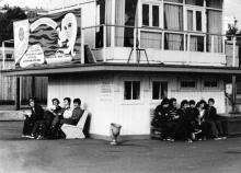Одесса. Диспетчерская пассажирских катеров портофлота на 20-ом причале порта. Конец 1970-х