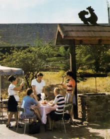 Одесса. Ресторан «Глечик». Фото в книге «Одесса — Варна». 1976 г.
