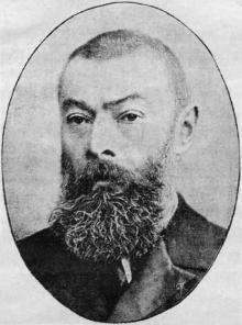 Василий Васильевич Навроцкий, 1900 г.