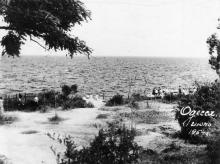 Одесса. Ланжерон. 1954 г.