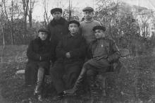 Одесса. Лермонтовский курорт. Снимок подписан: 21 ноября 1933 г.