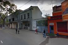 Здание бывшего кинотеатра «Серп и молот» на ул. Степовой, 30. Фото Google-карты. Ноябрь, 2011 г.