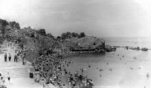 Аркадия, Северный пляж