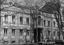 Одесса. Дом № 20 по ул. Петра Великого (особняк Б. Яновской, 1893 г., арх. А.И. Бернардацци). 1980-е гг.