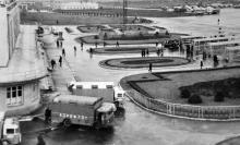 Перрон Центрального аэропорта, 1960-е годы