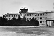 Здание диспетчерской службы одесского аэропорта, 1962 г.