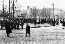 Соборная площадь (1941 — 1944)