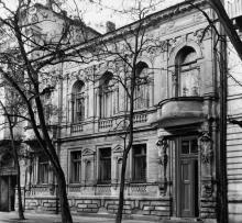 Одесса. Дом № 10 по ул. Свердлова. 1980-е гг.