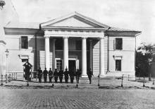 Здание гауптвахты на Садовой улице. Одесса. Конец 19 века
