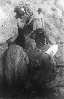 Одесса. Спуск к морю. 1950-е гг.