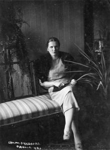 В санатории имени товарища Чкалова. Одесса. 1940 г.