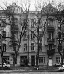 Дом б. Русова на ул. Подбельского, 38. 1910, арх. Л.М. Чернигов. Одесса. 1980-е гг.