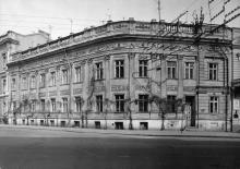 Дом  на площади Потемкинцев, 4. 1848, арх. Ф.О. Моранди. Фото 1980-х гг.