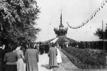 Сельскохозяйственная выставка в ЦПКиО им. Шевченко. Одесса. 1953 г.