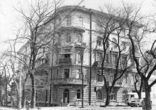 Дом б. Гальперсона по ул. Чичерина, 45, 1911-1912, арх. С.С. Гальперсон. Одесса, 1980-е гг.